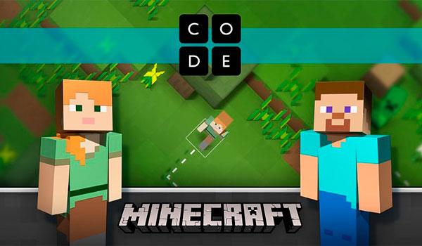 Minecraft empieza su andadura educativa a través de la programación.