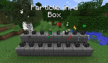 Particle in a Box Mod para Minecraft 1.8