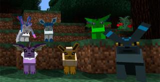 Pokécube Mod para Minecraft 1.8 y 1.8.8