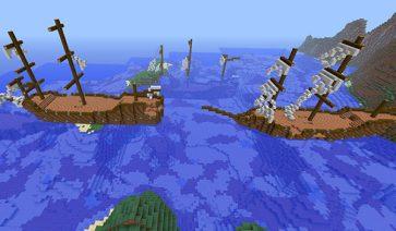 Shipwrecks Mod para Minecraft 1.7.10 y 1.7.2