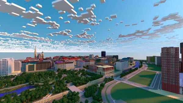 Un grupo de jugadores de Minecraft recrea la ciudad de Viena a tamaño real.