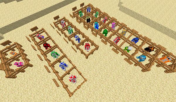 Astromech Droids Mod para Minecraft 1.7.10