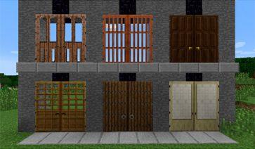 Big Doors Mod para Minecraft 1.7.10