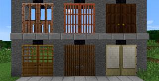 Big Doors Mod para Minecraft 1.8