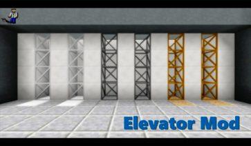 Elevator Mod para Minecraft 1.8