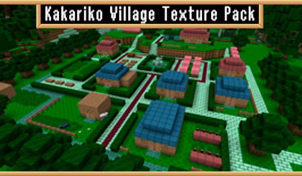 Kakariko Village Texture Pack para Minecraft 1.8