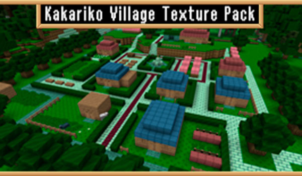 Kakariko Village Texture Pack para Minecraft 1.10