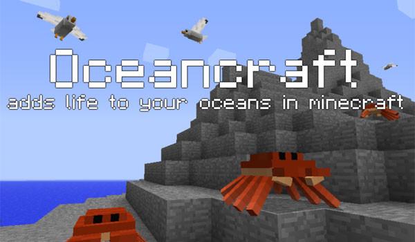 OceanCraft Mod para Minecraft 1.8 y 1.8.9
