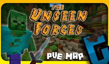 The Unseen Forces Map para Minecraft 1.9 (Snapshots)
