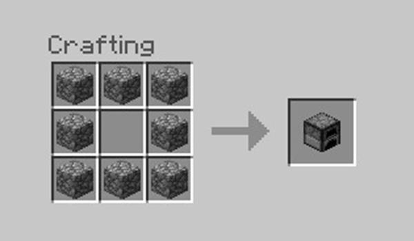 imagen de la receta que muestra el proceso necesario para hacer un horno.