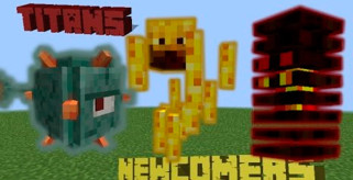 The Titans Mod para Minecraft 1.8