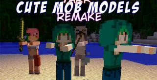Yarr Cute Mob Models Mod para Minecraft 1.8 y 1.8.9