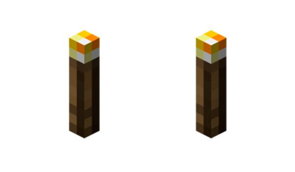 Cómo hacer una antorcha en Minecraft
