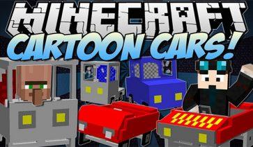 Cars and Drives Mod para Minecraft 1.8
