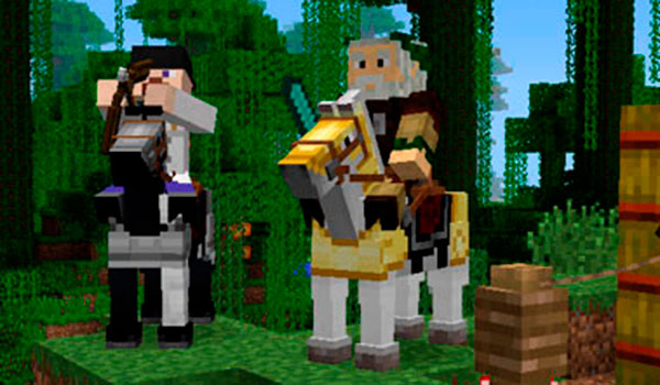 Domar caballo Minecraft