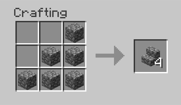 en la imagen vemos la disposición correcta de los materiales para poder fabricar escaleras de bloque.