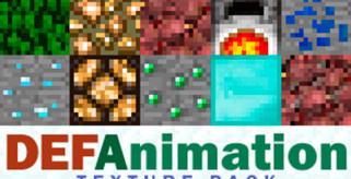 DEFAnimation Texture Pack para Minecraft 1.8