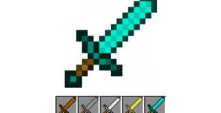 Cómo hacer una espada en Minecraft