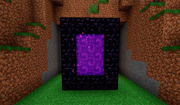 Portal al Nether en Minecraft