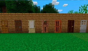 Puerta Minecraft