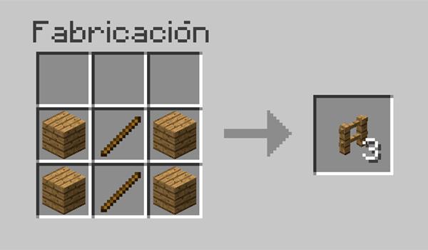 C mo hacer vallas en minecraft minecrafteo - Como cerrar un terreno con madera ...
