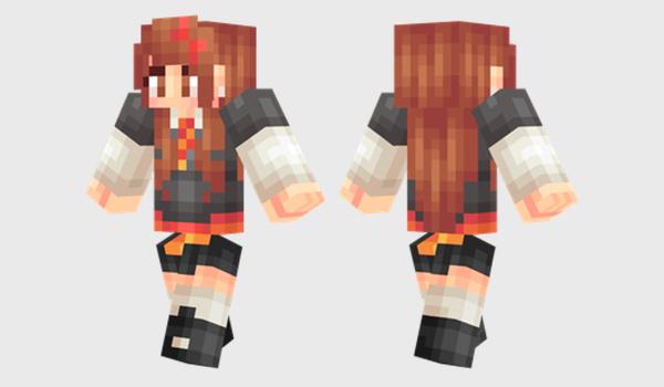 Hermione Skin para Minecraft