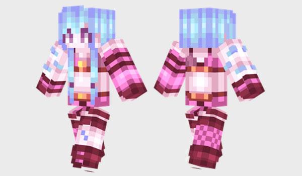 Jinx Skin para Minecraft
