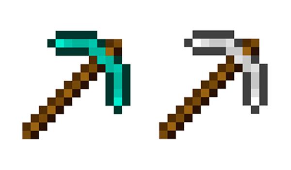 Cómo hacer un pico en Minecraft