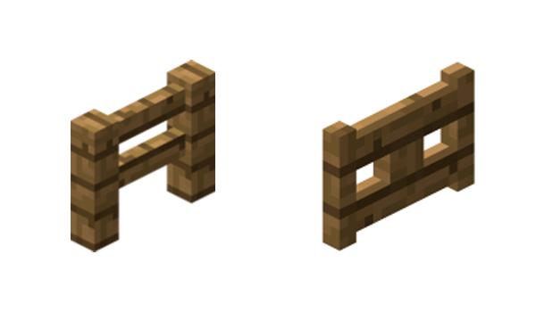 Cómo hacer vallas en Minecraft