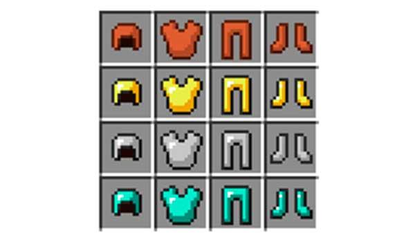 Cómo hacer una armadura en Minecraft