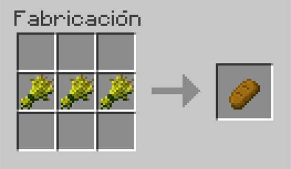 imagen donde vemos la receta y los ingredientes necesarios para hacer pan.