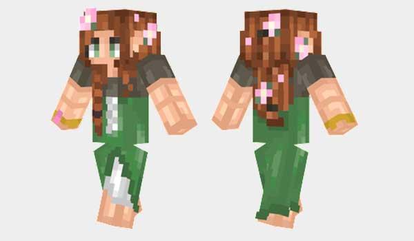 Elven Girl Skin para Minecraft