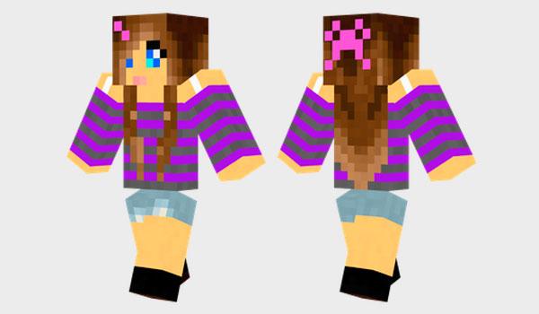 Girl Skin para Minecraft