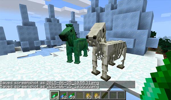 Horse Upgrades Mod para Minecraft 1.9