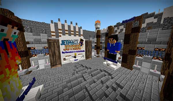 Jetpack Joyride Map para Minecraft 1.9