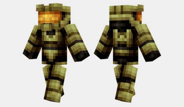Master Chief Skin Para Minecraft MineCrafteo - Skins para minecraft pe descargar