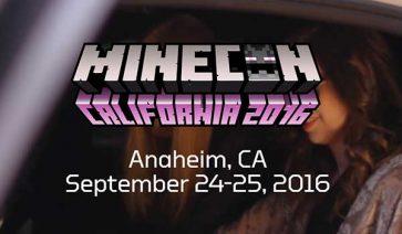La MineCon 2016 se celebrará en Anaheim, California.