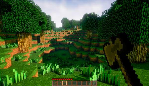 Así sería Minecraft en Unreal Engine 4.