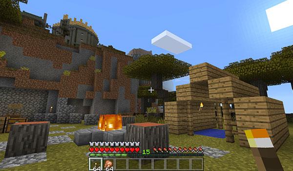Así son las primeras imágenes de Minecraft en Oculus Rift.