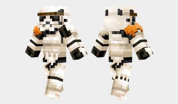 Sandtrooper Skin para Minecraft