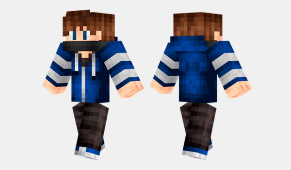 Cool Blue Guy Skin