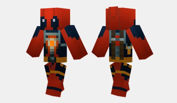 Deadpool Skin Para Minecraft MineCrafteo - Skins para minecraft descargar gratis