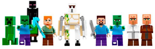 lego-minecraft-the-village-criaturas
