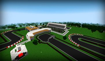 Minecar Racing Map para Minecraft 1.9