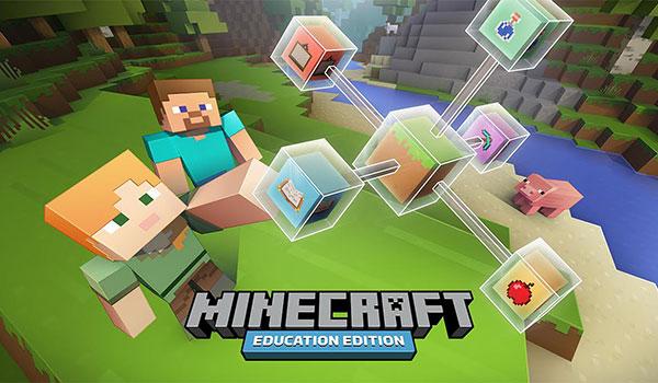 Minecraft Education Edition llegará a las escuelas en Junio.