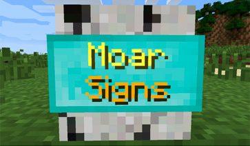 MoarSigns Mod para Minecraft 1.9 y 1.9.4