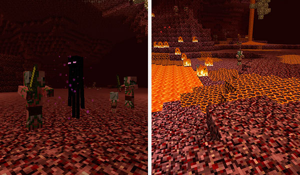 how to change nether portal location