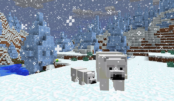El nuevo mob neutral de Minecraft 1.10 será un oso polar.