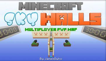 SkyWalls PVP Map para Minecraft 1.9 y 1.8