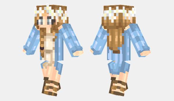Spring Skin para Minecraft